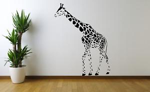 Giraffe Animal Safari Wall Art Decal Sticker A51