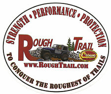 "Crown Rough Trail Sticker Decal 4.5""x4""...Jeep Off Road 4X4 CJ7 CJ5 Tool Box"