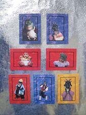 DINOSAURS PUZZLE 7 CARDS Disney TV Show 1992 PROSET, INC.