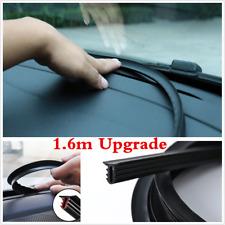 Black Dustproof Rubber Dashboard Windshield Soundproof Car Sealing Strip