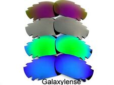 Galaxy Replacement Lenses For Oakley Jawbone Blue&Green&Titanium&Purple Polarize