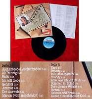 LP Mike Krüger: Unvergängliches Muster (Teldec 626484 AP) D 1987