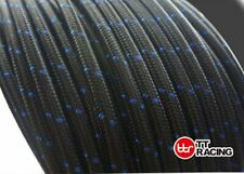 "-10 AN AN10 5/8"" Nylon Braided Stainless Steel Fuel Line Hose 3FT E85 friendly"