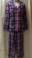 Victoria's Secret NWOT Plaid Cotton Flannel Pajama Lot Set M