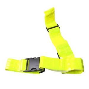 Muddyfox Sash Belt Unisex Reflective Sashes Clip Fastening Fluorescent