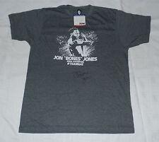 JON BONES JONES SIGNED AUTO'D GAT SHIRT PSA/DNA COA MMA UFC CHAMPION 165 182 L