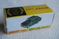 DINKY TOYS = REF 520 SIMCA 1000 RALLYE 2 / PROTO 1975  = BOITE ATLAS ech1/43