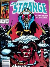 Doctor Strange Sorcerer Supreme n°26 1991  ed. Marvel Comics   [G.224]