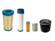 Takeuchi TB016 TB014 Air Oil Fuel Filter Kit (Yanmar 3TNE68 3TNV70 Engine)