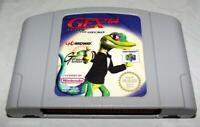 Gex 64 Enter the Gecko Nintendo 64 N64 PAL