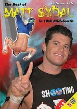 Best of Matt Sydal in IWA Volume 1 DVD, Evan Bourne WWE