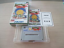 >> LEMMINGS II 2 THE TRIBES SFC SUPER FAMICOM JAPAN IMPORT COMPLETE IN BOX! <<