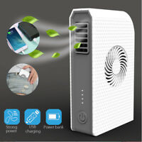 Portable Mini Pocket 6000mAh Power Bank Electric USB Fan Cooler Rechargeable NEW
