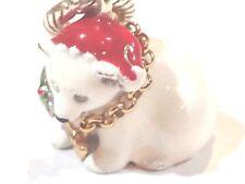 New Brighton Jewelry Charm: Christmas Polar Bear