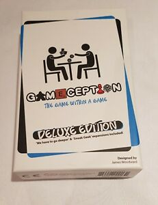 Gameception Deluxe Edition - used once