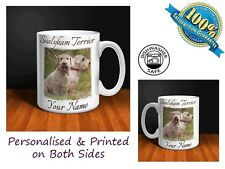 Sealyham Terrier Personalised Ceramic Mug: Perfect Gift. (D005)