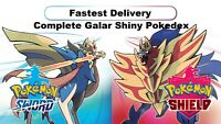 Shiny Galar Pokedex (Shiny Charm) - Pokemon Shield & Sword