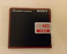 Sony Mini Disc HD MD 1gb