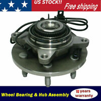 4WD Front Wheel Bearing & Hub Assembly For 2009 2010 Ford F-150 6 Bolt w/ABS