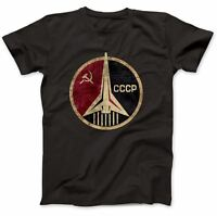 CCCP Russian Soviet USSR T-Shirt 100% Premium Cotton Hammer And Sickle