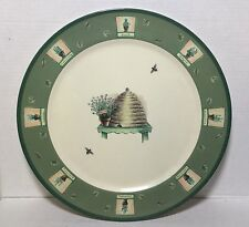 "Pfaltzgraff 14"" Platter Precidio Melamine NATUREWOOD  Pattern Serving Plate"