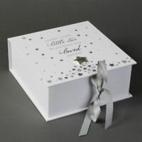 Baby Girl Boy Twinkle Twinkle Keepsake Box Newborn Christening Gift Baby shower