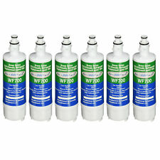 Fits LG LT700P Refrigerator Water Filter Replacement by Aqua Fresh (6 Pack)