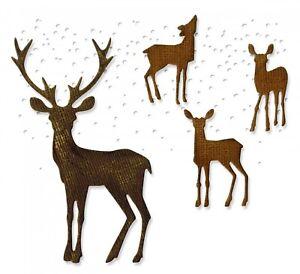 Sizzix Thinlits Winter Wonderland 5PK set #662426 Retail $16.99 by Tim Holtz