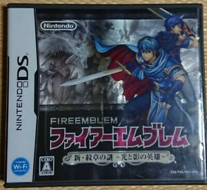 DS Fire Emblem New Mystery of The Emblem Shin Monshou No Nazo Nitnendo