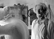 PHOTO JEAN ROCHEFORT- L'ARTISTE ET SON MODELE - 11X15 CM  # 4