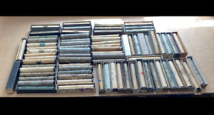 Various Antique Pianola Music Rolls For A Player Piano