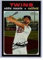 Eddie Rosario 2020 Topps Heritage 5x7 #432 /49 Twins