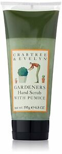 crabtree evelyn  gardeners  hand scrub with pumice 6.8 oz