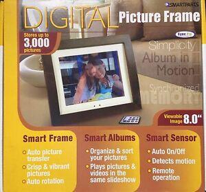 """Smartparts SPX8 8"""" Digital Picture Frame"""