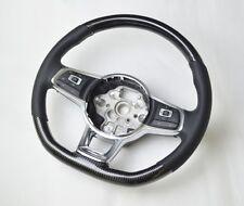 PELLE CARBONIO-Volante Adatto per VW Golf 7 VII R anche GTI GTD (12+)