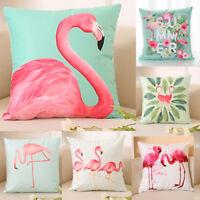 2019 USA Flamingo Home Decor Pillowcase Throws Pillow Case Waist Cushion Covers