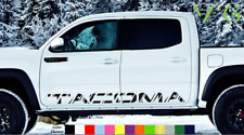 Toyota Tacoma Vinyl Decal Sticker Graphics TRD Sport Side Door x2 ANY COLOR- 003
