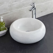 Marble Round Home Bathroom Sinks