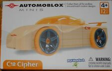 Automoblox Minis C12 Cipher Real Wood Customizable Vehicles