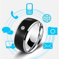 NFC Smart Crystal Finger Ring Multifunctional Waterproof Intelligent Charm RiLA