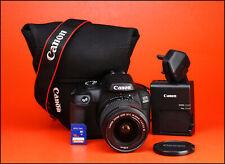 Canon EOS 4000D DSLR Camera +18-55mm III Lens Kit -1080p HD & WiFi - 415 Shots