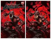 ABSOLUTE CARNAGE #1 SKAN VIRGIN & TRADE SET MARVEL VENOM KNULL - NM OR BETTER