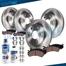 For 2009 Ford F-150 6 LUG Front & Rear Disc Brake Rotors + Ceramic Pads Kit