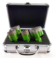 5-teiliges Premium Diamant-Bohrkronen Set (H:15mm) M14  22/35/40//50/68mm+GRATIS