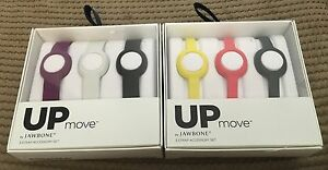 Jawbone UP MOVE 3 Strap Accessory Set ACTIVITY TRACKER BAND Thick OR Thin NEW