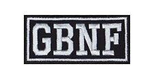GBNF Gone but not forgotten Heavy Biker Rocker Patch Aufnäher Bügelbild Kutte
