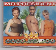Mr President-Coco Jamboo cd maxi single 8 tracks