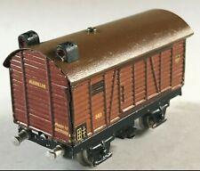 Märklin Eisenbahn gedeckter Güterwagen 381 S/1 Schlusslichtwagen Spur 00/H0~1939