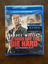 NEW!! A GOOD DAY TO DIE HARD LIMITED EDITION 2 DISK BLU RAY SET - FREE SHIPPING!