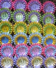 Pretty Rosettes 1st to 6th x 4 of each 2 tier SHOW NAME INCLUDED!
